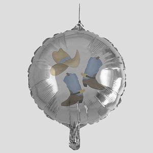 Cowboy - Western Mylar Balloon