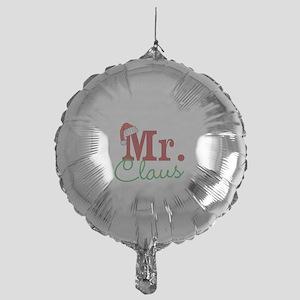 Christmas Mr Personalizable Mylar Balloon