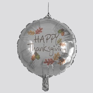 Happy Thanksgiving Mylar Balloon