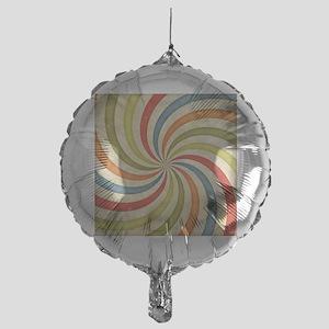 Psychedelic Retro Swirl Balloon