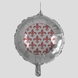 Fleur de lis French Pattern Parisian Design Balloo