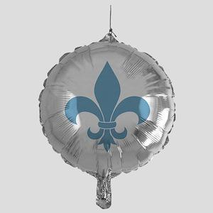Blue Fleur de lis French Pattern Parisian Design B