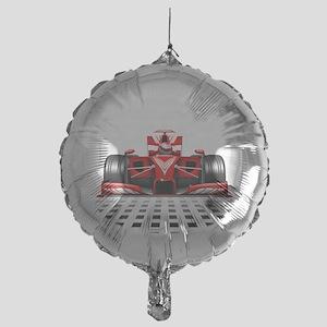 Formula 1 Red Race Car Balloon