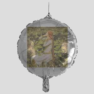 Waterhouse: Ophelia (1894) Mylar Balloon