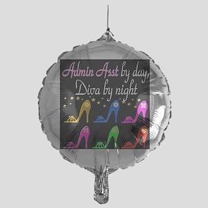 ADMIN ASST Mylar Balloon