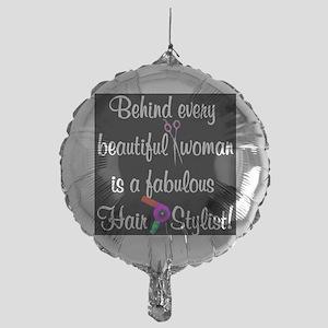 INSPIRING HAIR STYLIST Mylar Balloon