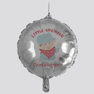 Little Engineer Personalized Mylar Balloon