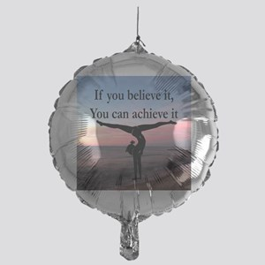 GYMNAST INSPIRATION Mylar Balloon