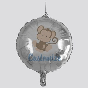 Custom Monkey Mylar Balloon