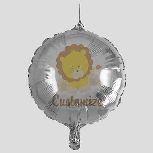 Custom Baby Lion Mylar Balloon