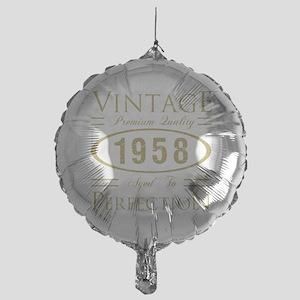 Vintage 1958 Premium Mylar Balloon