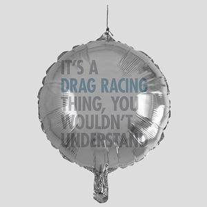 Drag Racing Thing Mylar Balloon