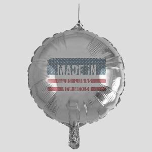Made in Los Lunas, New Mexico Mylar Balloon