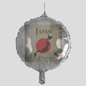 Map Of Japan Mylar Balloon