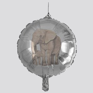 Mother and Child Mylar Balloon