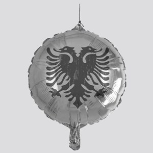 albania_eagle_distressed Mylar Balloon