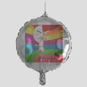 Cammie20ColorBrightShirt Mylar Balloon