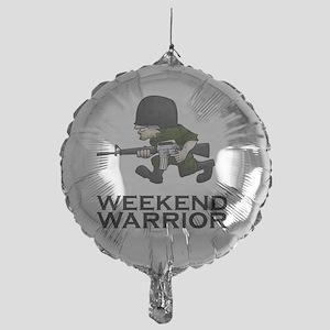 Weekend Warrior II - Military/Airsof Mylar Balloon