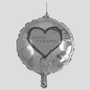 adoption beautiful 2 Mylar Balloon