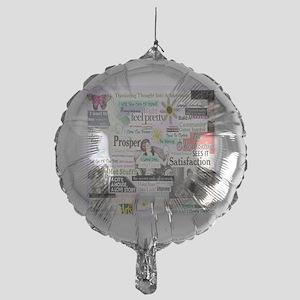 abuse13x13reg Mylar Balloon