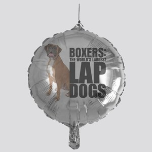 lapdog Mylar Balloon