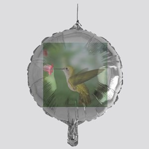 Hummingbird in flight Mylar Balloon