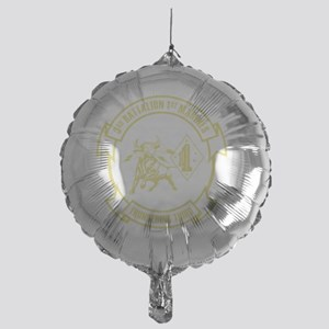 3rd Battalion 1st Marines Front Mylar Balloon