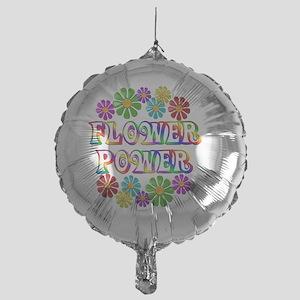 FlowerPower Mylar Balloon