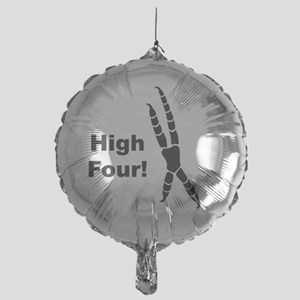 High Four Mylar Balloon