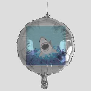 Shark Attack Mylar Balloon