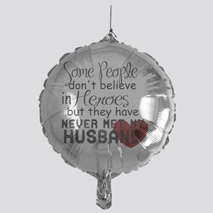 Husband hero Mylar Balloon