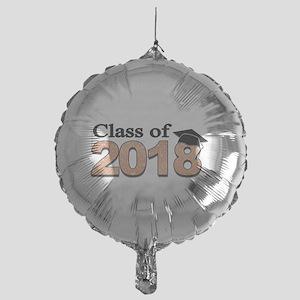 Class of 2018 Glitter Balloon