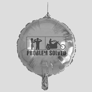 Problem Solved Mylar Balloon