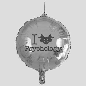 I Heart (Rorschach Inkblot) Psychology Mylar Ballo