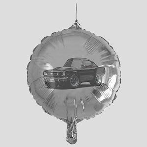 abyAmericanMuscleCar_65_mstg_Xmas_Black Balloon