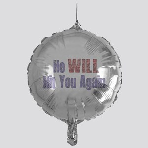 abuse022 Mylar Balloon