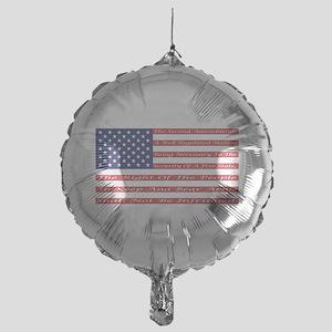 2nd Amendment Flag Balloon