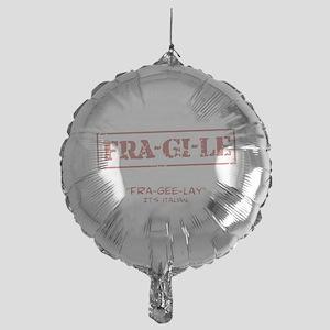 FRA-GI-LE [A Christmas Story] Mylar Balloon