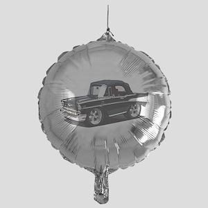 BabyAmericanMuscleCar_57BelR_Black Balloon