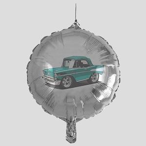 BabyAmericanMuscleCar_57BelR_Green Balloon