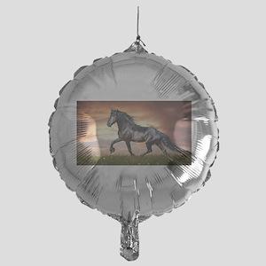 Beautiful Black Horse Balloon