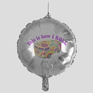 how i rool Mylar Balloon