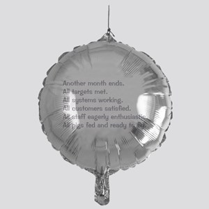 All Targets Met Mylar Balloon