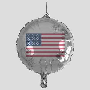 American Flag Mylar Balloon