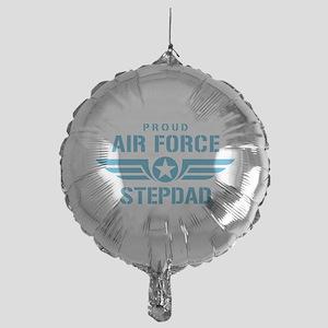 Proud Air Force Stepdad W Mylar Balloon