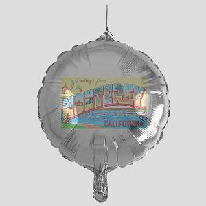 Monterey California Greetings Mylar Balloon