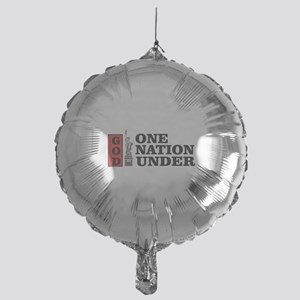 one nation under god liberty Mylar Balloon