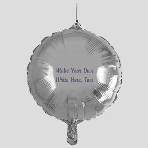 Make Your Own Cursive Saying/Meme Cr Mylar Balloon