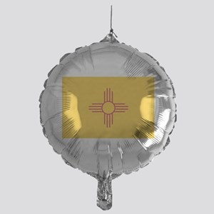 newmexicoflagplainbanner42x28 Mylar Balloon