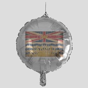 British Columbia Flag Mylar Balloon